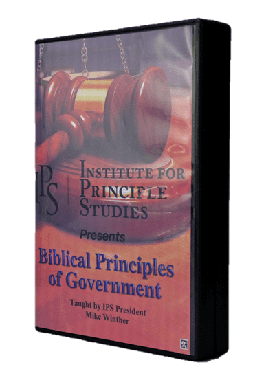 Biblical Principles of Government DVD series