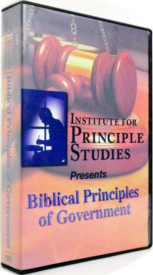 Biblical Principles of Government DVD