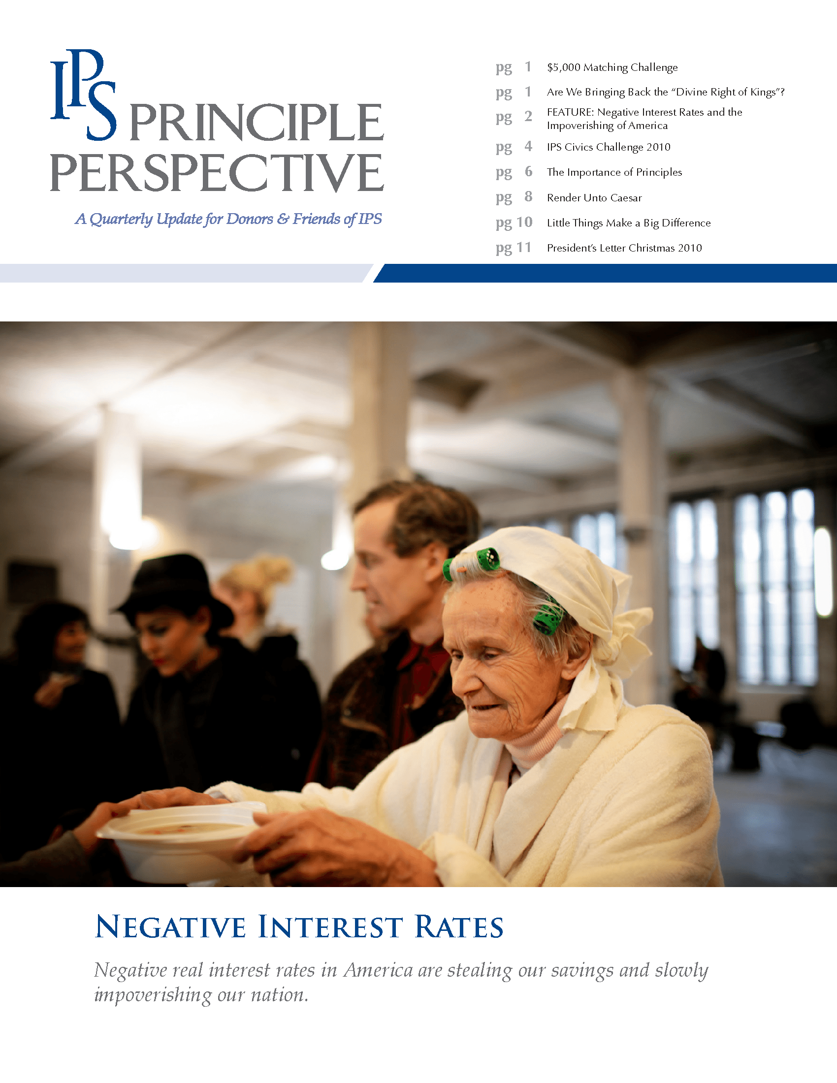 Principle Perspective - Negative Interest Rates